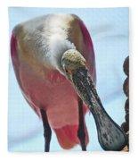Spoonbill Fleece Blanket