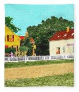 Spooner's Paint Shop Fleece Blanket