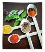 Spoons N Spices Fleece Blanket