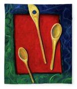 Spoons Fleece Blanket