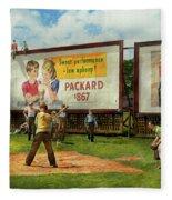 Sport - Baseball - America's Past Time 1943 Fleece Blanket