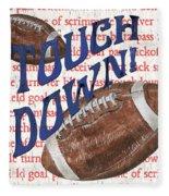 Sports Fan Football Fleece Blanket