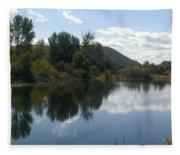 Union Gap Pond Fleece Blanket
