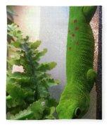 Spotted Gecko Fleece Blanket