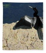 Spreading My Wings Fleece Blanket