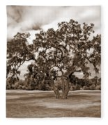 Spreading Tree Fleece Blanket