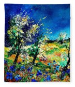 Spring 56 Fleece Blanket
