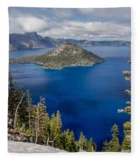 Spring Afternoon From Discovery Point Fleece Blanket