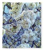 Spring Around Fleece Blanket