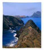 Spring At Anacapa Island, Channel Fleece Blanket