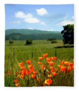 Spring At Gainey Ranch Fleece Blanket
