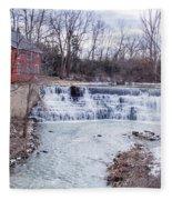 Spring At Honeoye Falls Fleece Blanket