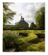 Spring At The Governor's Palace Fleece Blanket