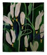 Spring Ballet Fleece Blanket