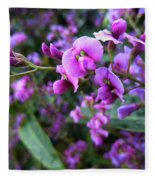 Spring Blossom 2 Fleece Blanket