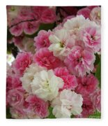Spring Blossom 3 Fleece Blanket