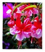 Spring Blossom 6 Fleece Blanket