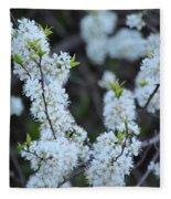 Spring Blossoms 2 Fleece Blanket