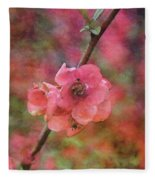 Spring Blossoms 9129 Idp_2 Fleece Blanket