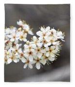 Spring Blossoms Fleece Blanket