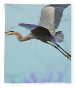 Spring Blue 2009 Fleece Blanket