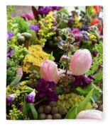Spring Bouquet 2 Fleece Blanket
