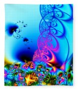 Spring Breezes Fleece Blanket