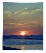 Spring Dawn Fleece Blanket