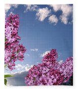 Spring Evening Fleece Blanket