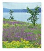 Spring Fever Fleece Blanket