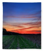 Spring Field Fleece Blanket