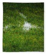 Spring Field Memphis Fleece Blanket
