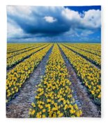 Spring Fields Fleece Blanket