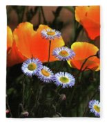 Spring Flowers In Payson Arizona Fleece Blanket