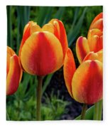 Spring Garden - Act One 2 Fleece Blanket