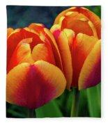 Spring Garden - Act One Fleece Blanket