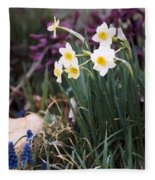 Spring Garden Fleece Blanket
