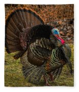 Spring Gobbler Fleece Blanket