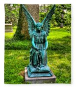 Spring Grove Angel Fleece Blanket