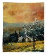 Spring In Gendon Fleece Blanket