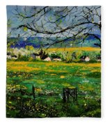Spring In Herock Fleece Blanket