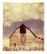 Spring In Kansas  Fleece Blanket