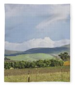 Spring In Livermore Fleece Blanket