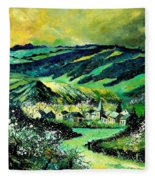 Spring In Tha Ardennes Fleece Blanket