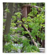 Spring In The Mountains At American Fork Canyon Utah Fleece Blanket