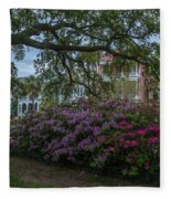 Spring In White Point Gardens Fleece Blanket