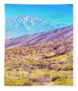 Spring In Whitewater Canyon Fleece Blanket