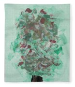 Spring Interlude Fleece Blanket