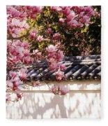Spring - Magnolia Fleece Blanket