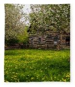 Spring Meadow Fleece Blanket